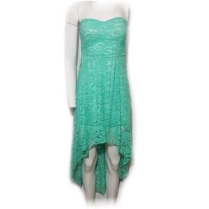 Poetry Party Dress High Low Lace